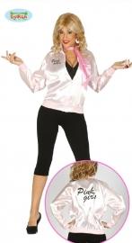 Pink girls jas
