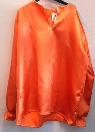 Oranje shirt lange mouw