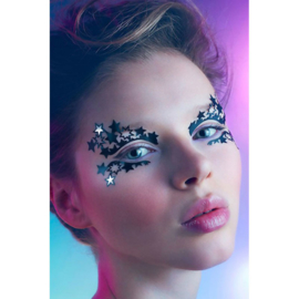 Gezichtstickers/ Face Lace sterren