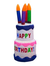 Verjaardagstaart opblaasbaar