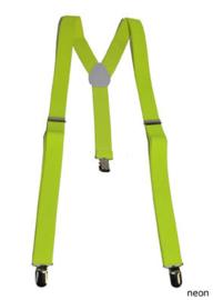 Bretels Neon geel