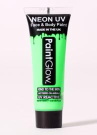 Face en bodypaint groen