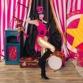 Circus gilet pink vrouw