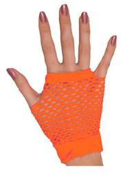 handschoenen kort, oranje