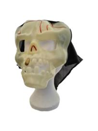 Masker doodshoofd, glow in the dark