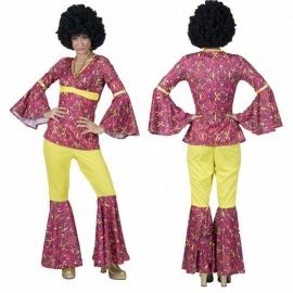Hippie Flower Power Lady