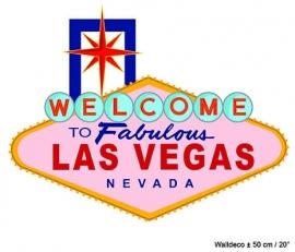 Las Vegas muurdecoratie