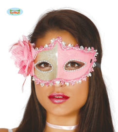 Masker goud-roze