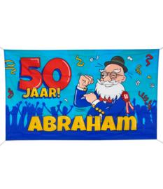 Gevelvlag XXL Abraham 50 jaar