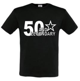 Shirt 50 and legendary