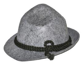 Grijze tiroler hoed