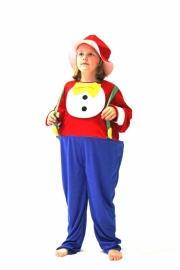 Clown met hoepel