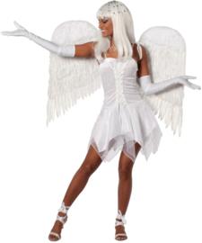 Engel jurkje wit