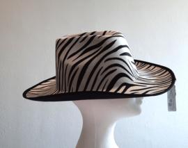 Cowboy hoed met dierenprint