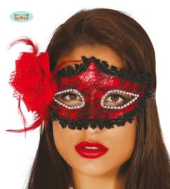Masker rood