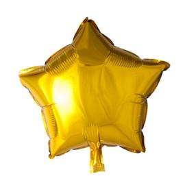 Folieballon gouden ster