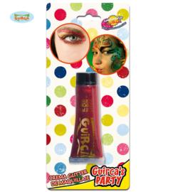 Glitter make up- rood