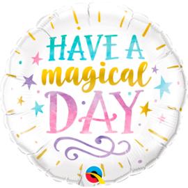 Folieballon Have a Magical Day