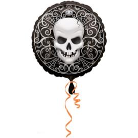 Folieballon doodskop
