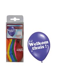 Ballonnen Welkom thuis