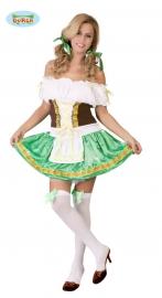 Oktoberfest vrouw, groen
