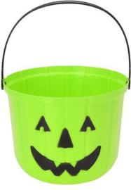 Halloween snoep emmer groen