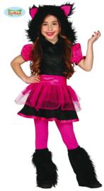 Wolven kostuum of roze monster
