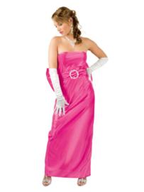 Hollywood jurk roze