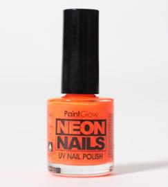 Nagellak neon oranje