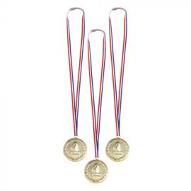 Grote medailles voor de winnaars