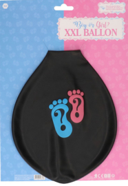 XXL ballon boy or girl, gender reveal