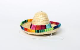 Mini sombrero, mexicaanse hoed