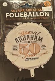 Folieballon Abraham en Sarah 50 jaar