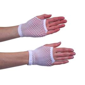Handschoenen kort, wit