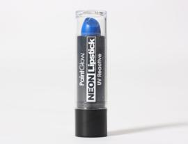 Lippenstift neon blauw