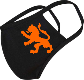 Mondkapje oranje leeuw Holland