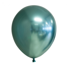 Ballon groen chrome