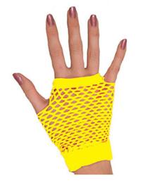 Handschoenen kort, geel