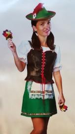 German Dress, Tiroler dame