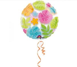Folieballon Hibiscus