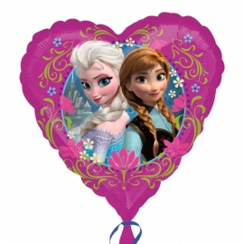 Folieballon Frozen hart
