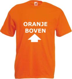 Shirt oranje Oranje boven