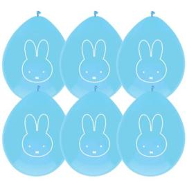 Nijntje ballonnen blauw