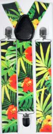 Bretels tropical