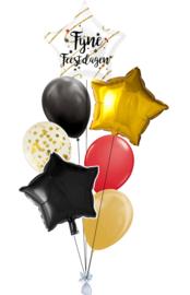 Ballonnentros Fijne Feestdagen