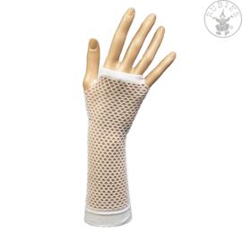 Handschoenen gaten lang, wit
