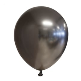 Ballon space grijs chrome