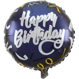 Folieballon Happy Birthday luxe