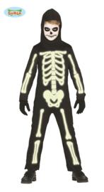 Skelet, glow in the dark