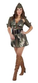 Leger/ militaire vrouw